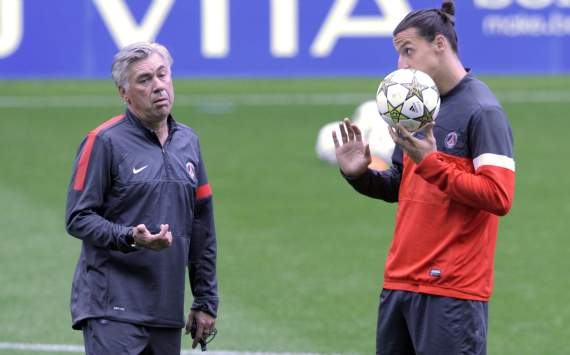 Ancelotti to Ibra: You promised me 20 goals but you only have 18!