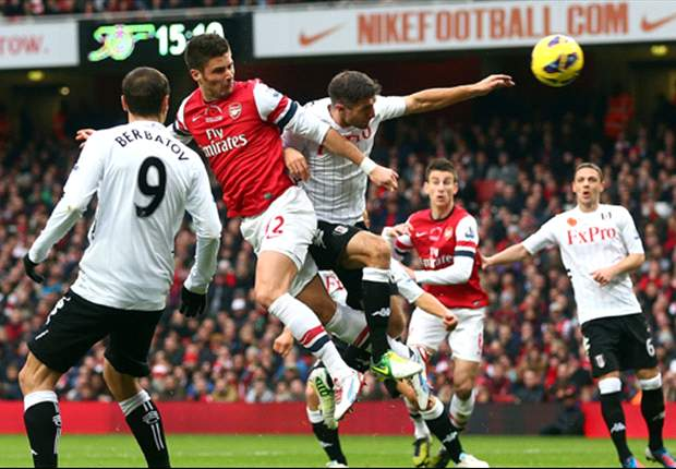 Wenger: Arsenal has adapted to Giroud's aerial strength