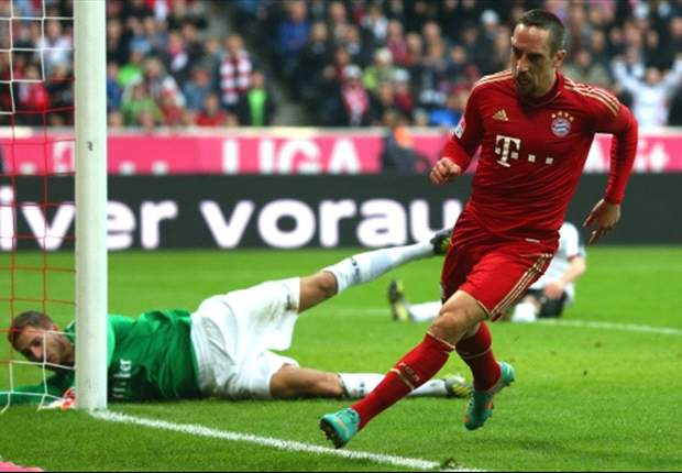 Bundesliga Team of the Week: Ribery stars once again for Bayern