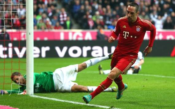Ribery: Bayern Munich will definitely win Bundesliga title