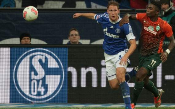 Germany, Bundesliga, FC Schalke 04 vs. Werder Bremen, Benedikt Hoewedes, Eljero Elia