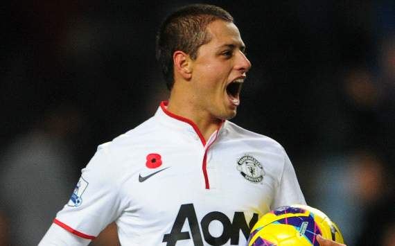Javier Hernandez, Manchester United (Getty)