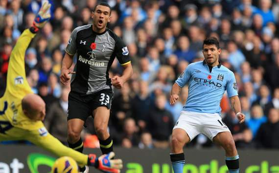 EPL; Sergio Aguero; Manchester City Vs Tottenham
