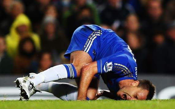 Di Matteo: Chelsea missed Terry when he went off