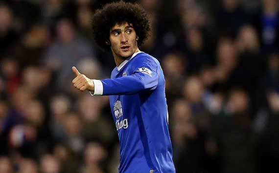 Fellaini apologises to Shawcross after headbutt