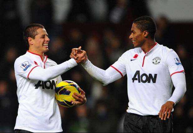 Javier &quot;Chicharito&quot; Hernandez scores brace in Manchester United win