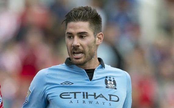 TEAM NEWS: Javi Garcia starts in defence for Manchester City against QPR