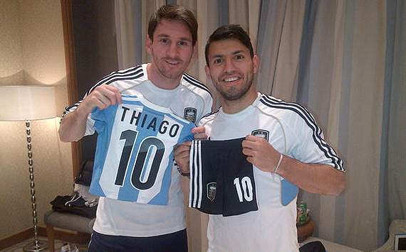 Lionel Messi y Sergio Agero, entre los nominados a mejor delantero 