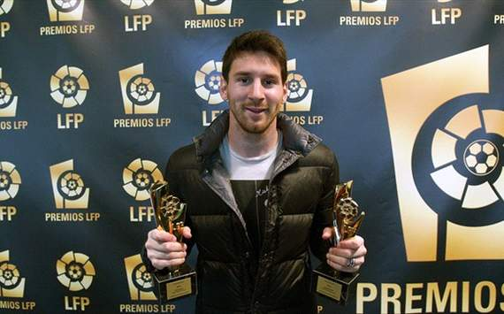 Messi wins LFP player of the season award