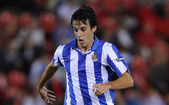 Rubn Pardo, Real Sociedad
