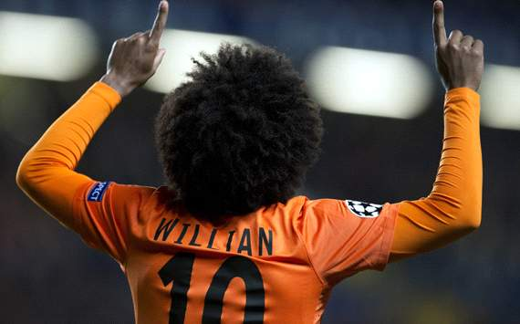 Tkachenko: Willian one of the world's best