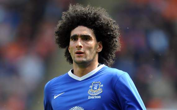 I am in no rush to leave Everton, insists 'patient' Fellaini