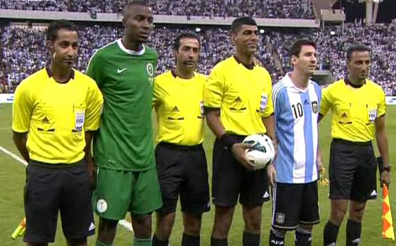 Saudi Arabia 0-0 Argentina
