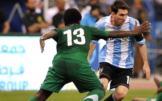 Berita Bola - Arab Saudi vs Argentina 0-0: Lionel Messi gagal cetak gol -