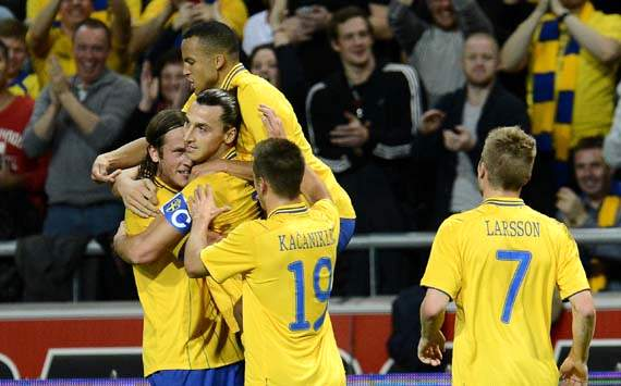 International Friendly, England vs Sweden, Zlatan Ibrahimovic
