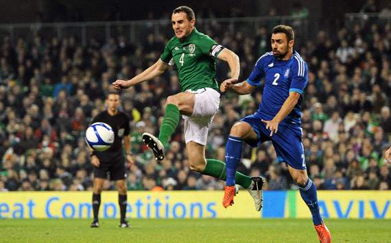 Friendly International, Republic of Ireland v Greece, John O'Shea, Ioannis Maniatis