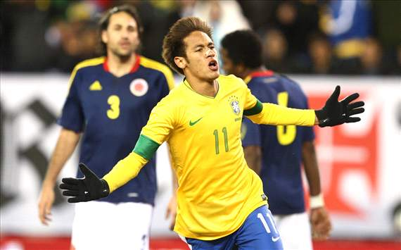 Brazil x Colombia - Neymar
