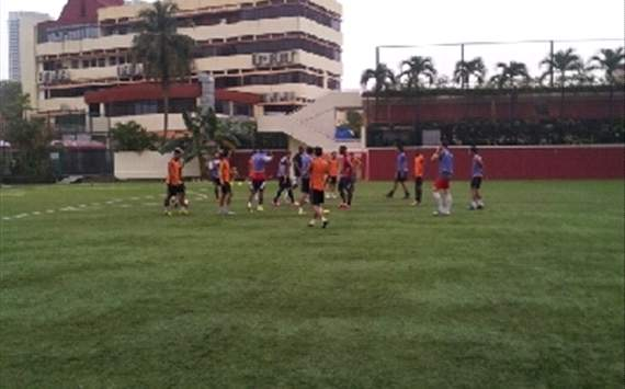 hougang united training