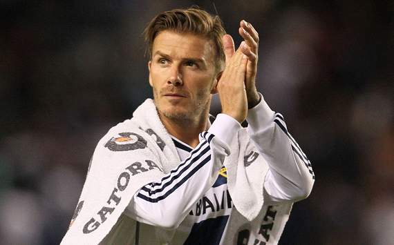 Beckham to play final game for LA Galaxy in MLS Cup final