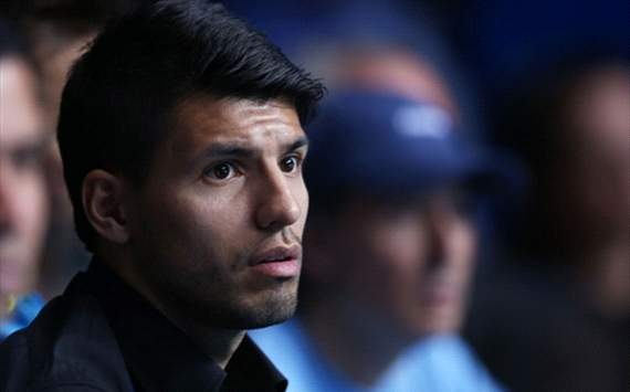 Sergio Aguero Dipastikan Cedera Hamstring