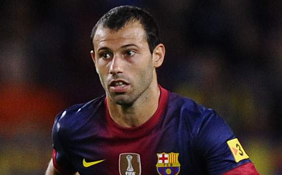 Mascherano: Malaga scoreline flattered Barcelona
