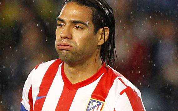 Falcao jug pero el Atltico cay 2 a 0