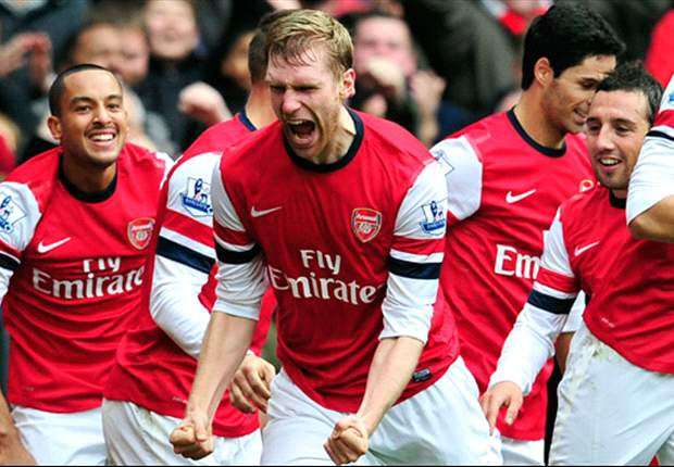 Mertesacker enjoying life at Arsenal after overcoming 'tough' debut season