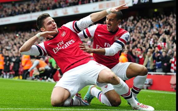 Olivier Giroud: Start Saya Lebih Baik Dari Robin Van Persie