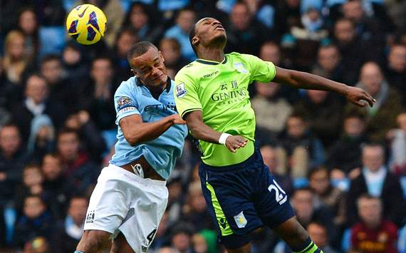 Kompany relishing Van Persie battle in Manchester derby