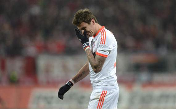 Bayern's Mario Mandzukic