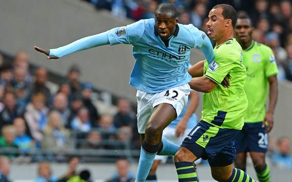 Yaya Toure: Manchester City must maintain unbeaten home run on Sunday