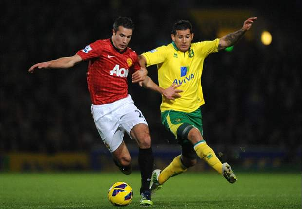 Manchester United's luck runs out as Norwich loss cements title doubts
