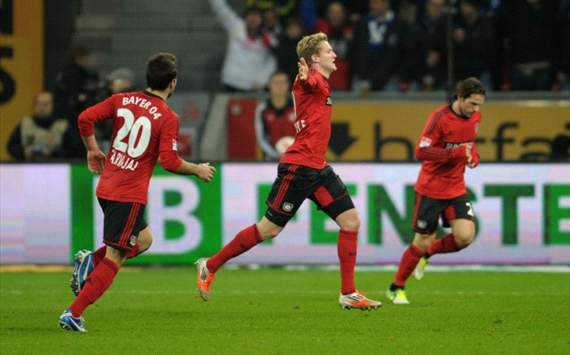 Andre Schrrle, Carvajal, Castro - Bayer 04 Leverkusen vs. FC Schalke 04