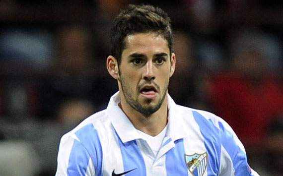 Isco signs Malaga contract extension