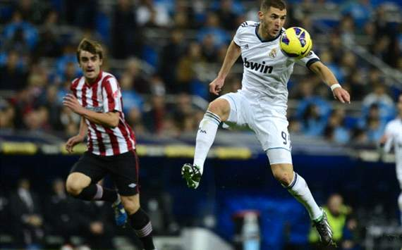 Benzema - Real Madrid vs Athletic