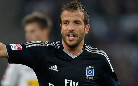 Hamburg need to improve for Europe, says Van der Vaart