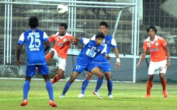 I-League:Sporting Goa vs United Sikkim