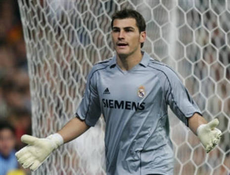 Iker Casillas of Real Madrid (AFP)