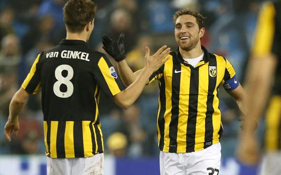 Marco van Ginkel, Guram Kashia (Vitesse)