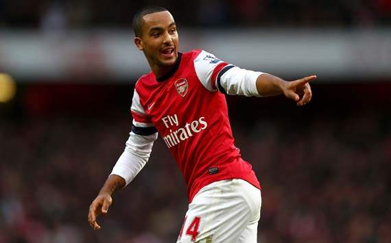Breakthrough: Walcott moves a step closer to signing new Arsenal deal