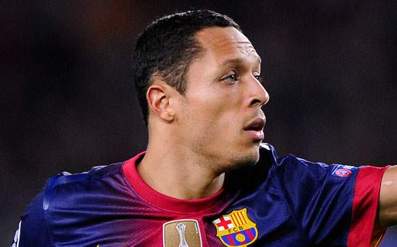 Adriano would welcome 'great' De Gea at Barcelona