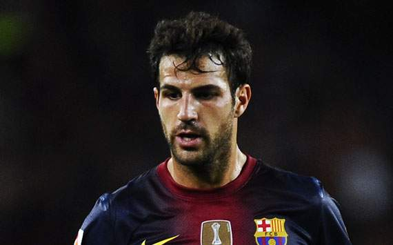 Cedera Hamstring, Cesc Fabregas Absen Sebulan