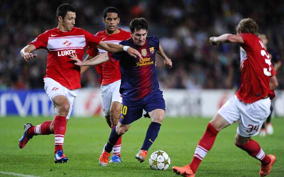 FC-Barcelona-v-FC-Spartak-Moscow