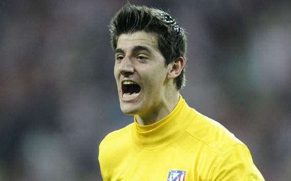 Chelsea goalkeeper Courtois open to extending Atletico Madrid loan