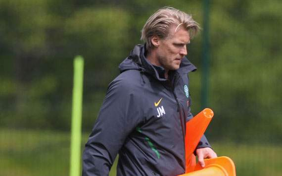 All of the pressure is on Benfica, insists Celtic assistant Mjallby