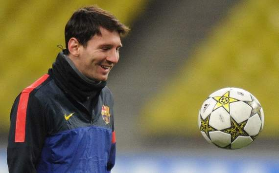 Lionel Messi Spartak Moscow