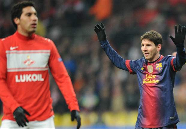 Team success is more important than Muller's record, says Messi