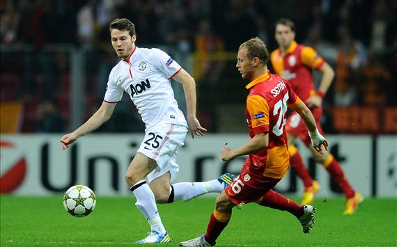 Champions League: Galatasaray-Manchester United - Nick Powell, Semih Kaya