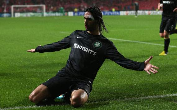 Samaras blames nerves for Celtic defeat