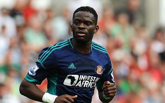Louis Saha of Sunderland profile pic